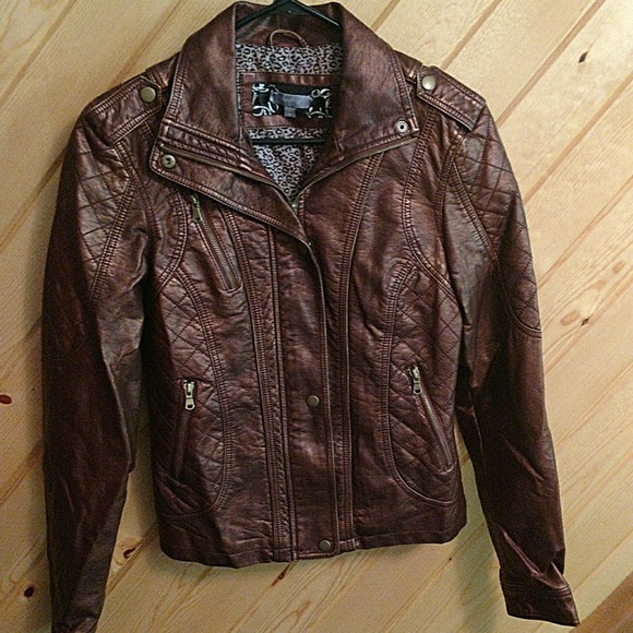 Daytrip Jackets & Blazers - Daytrip leather jacket